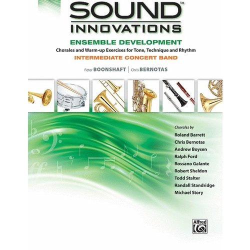Sound Innovations Sound Innovations for Concert Band - Ensemble Development for Intermediate Concert Band