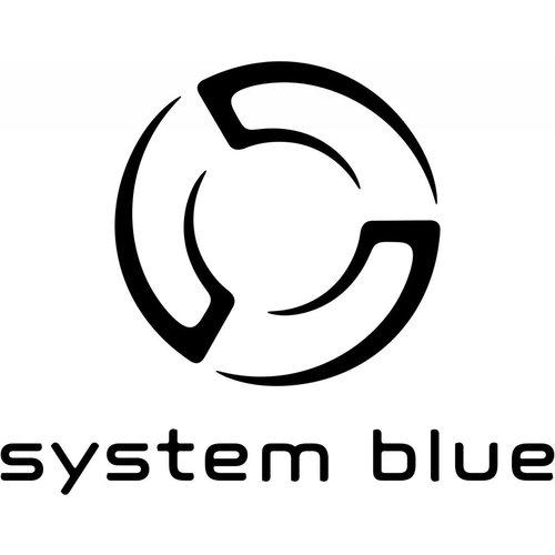 System Blue System Blue Professional Marching BBb Tuba SB50L - Lacquer Over Shoulder 4 Valve