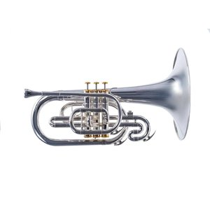 System Blue System Blue Traditional Marching F Mellophone SB20S-LE  - Silver