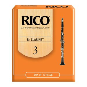 Rico RICO Bb Clarinet Reeds - Box of 10