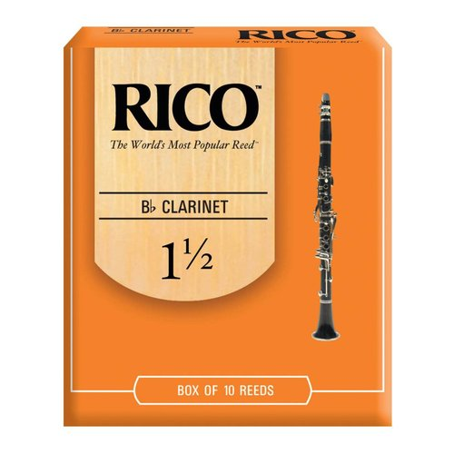 Rico RICO Bb Clarinet Reeds - Box of 10