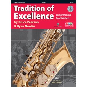 Kjos Tradition of Excellence for Band Book 1