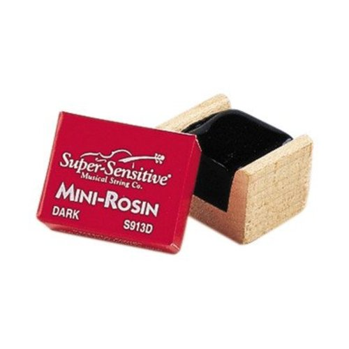 Super-Sensitive Musical String Company Mini Rosin - Dark
