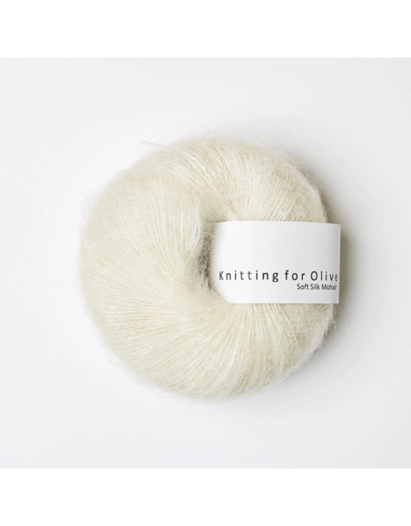 Knitting for Olive Soft Silk Mohair