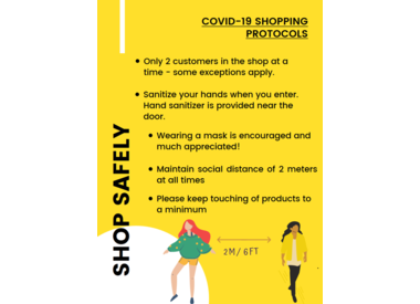 Shopping Safely During Covid-19