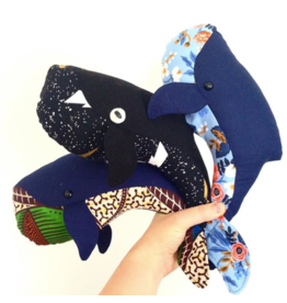 Rita Van Tassel Whale Family Sewing pattern