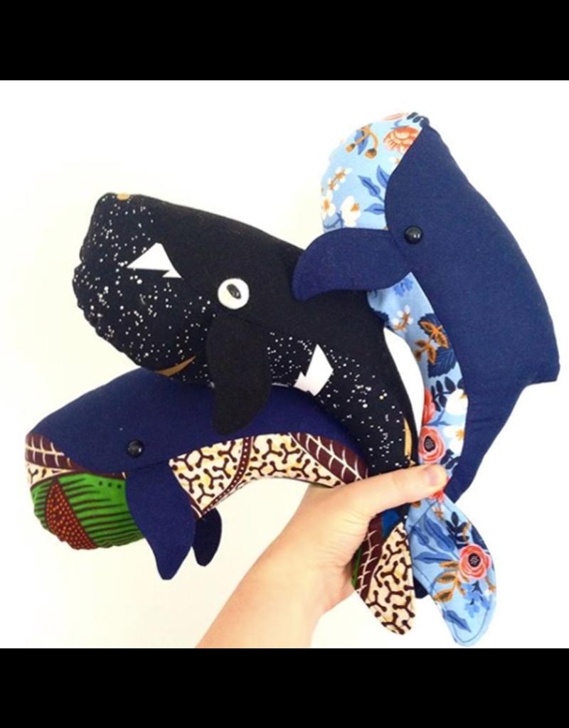 Rita Van Tassel Whale Family Sewing pattern
