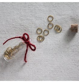 The Mariner's Daughter Gold Ring stitch markers