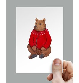 Anouk Greeting Cards Bear