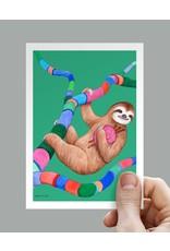 Anouk Greeting Cards Sloth