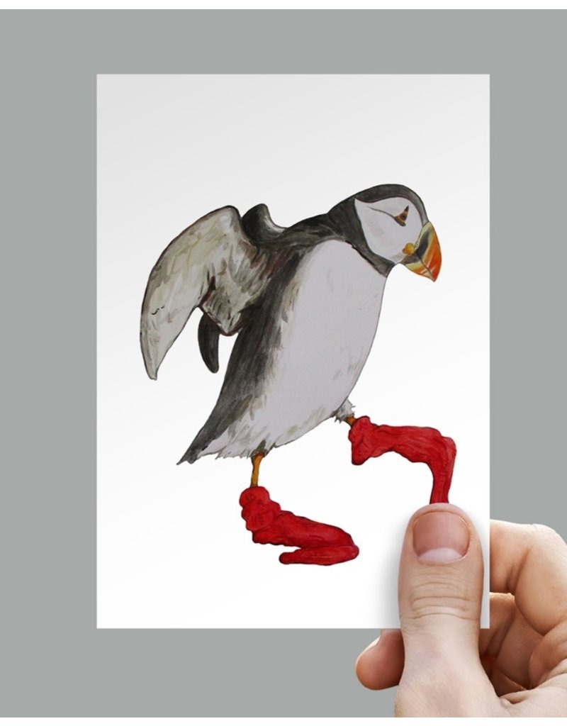 Anouk Greeting Cards Puffin