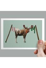 Anouk Greeting Cards Moose