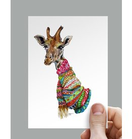 Anouk Greeting Cards Giraffe