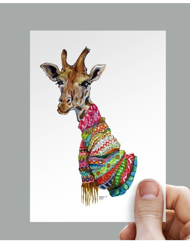 Anouk Greeting Cards Giraffe