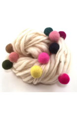 Bobble Yarn White