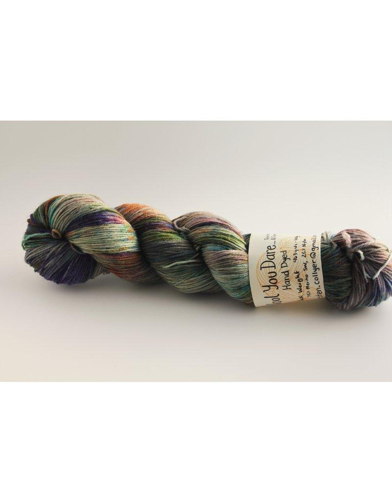 Wool You Dare Wool You Dare Sock 9 - Deep mutli coloured