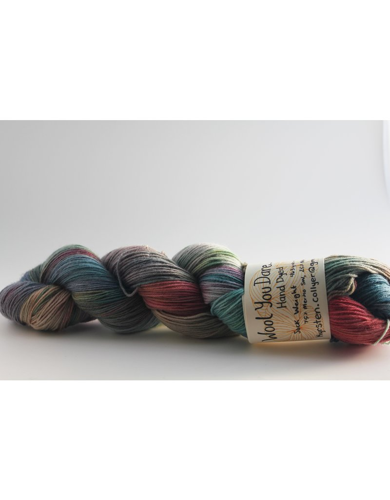 Wool You Dare Wool You Dare Sock 2 - Dusty multicolour