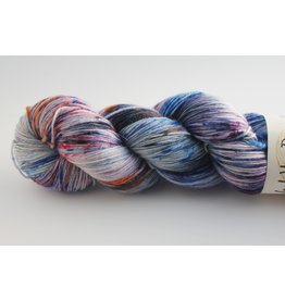 Wool You Dare Wool You Dare Sock 10 - Multi colours blues &  purples