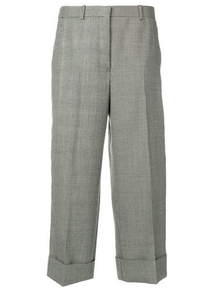 THOM BROWNE THOM BROWNE WOMEN SACK TROUSER IN FUNMIX POW BRITISH WOOL