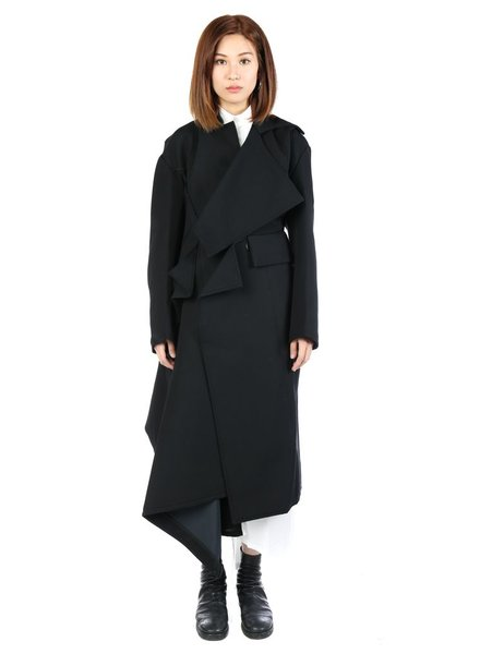 YOHJI YAMAMOTO YOHJI YAMAMOTO WOMEN CUBE BIG COAT