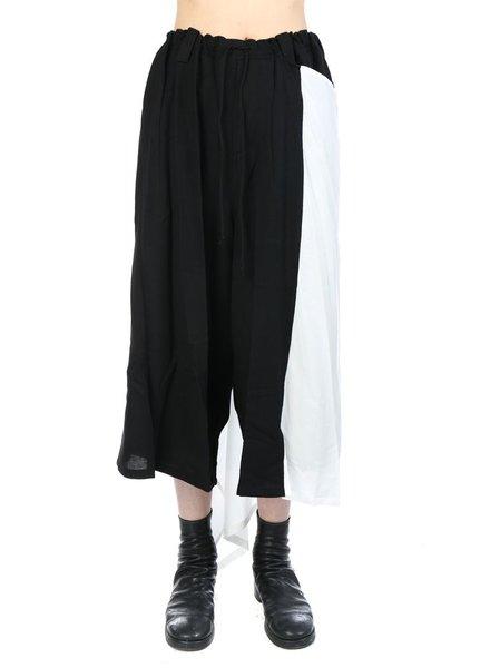 YOHJI YAMAMOTO YOHJI YAMAMOTO WOMEN PLUSH CLOTH PANTS