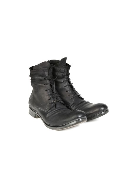 LAYER-0 LAYER-0 MEN REVERSE CORDOVAN LEATHER GOODYEAR LACE UP BOOT