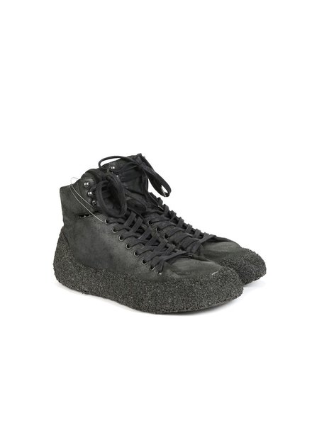 DEEPTI DEEPTI MEN STONE VULCANISED WHOLE OFF-CUT SNEAKER