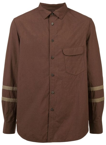 ZIGGY CHEN ZIGGY CHEN MEN CLASSIC SHIRT WITH SLEEVE DETAIL