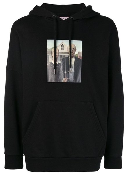 PALM ANGELS PALM ANGELS MEN AMERICAN GOTHIC OVER HOODIE