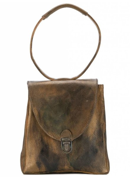 CHEREVICHKIOTVICHKI CHEREVICHKIOTVICHKI WOMEN MINI RECTANGULAR LOCK BAG WITH STRAP