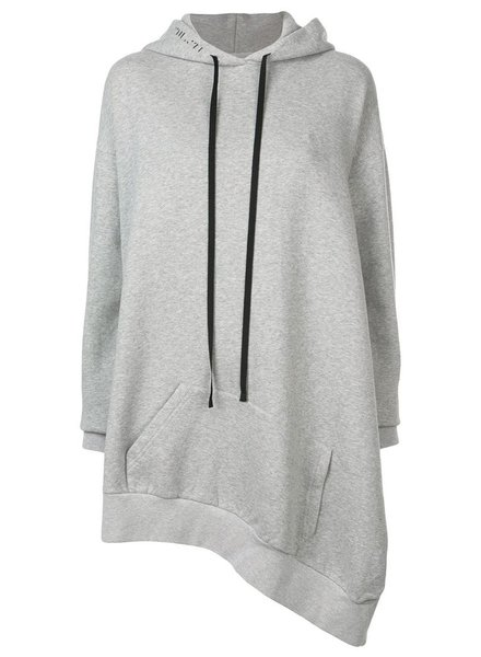 UNRAVEL PROJECT UNRAVEL WOMEN ASYMMETRIC HOODIE CAPE