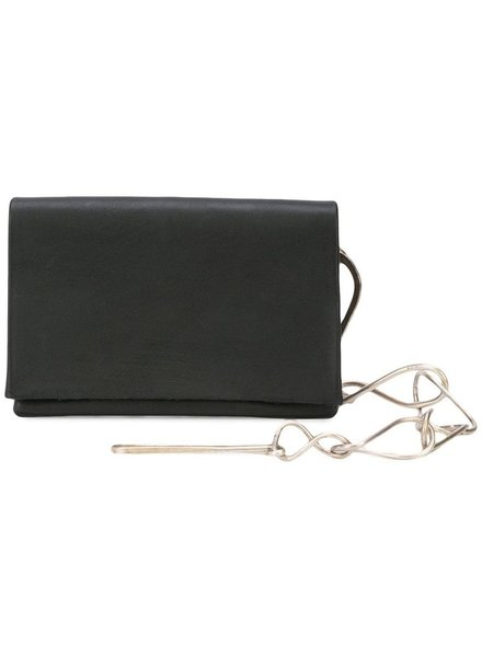 MA+ MA+ SMALL WALLET WITH SILVER CHAIN 17