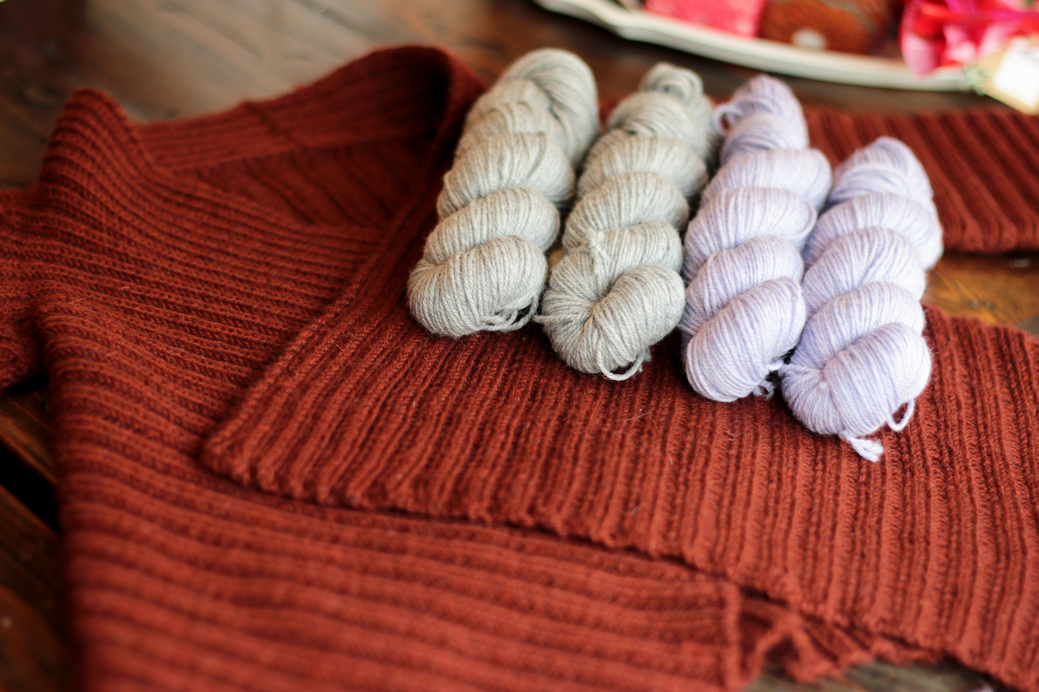 Yarn Friends: Quince & Co Chickadee Organic Heathers