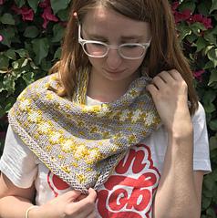 tri-color stranded knitting