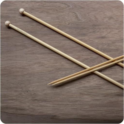 ka bamboo  |  straight needles