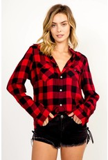 Olivaceous Stacey Flannel