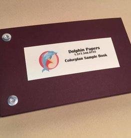 "Colorplan, Sample Book, 6.5"" x 3.5"""