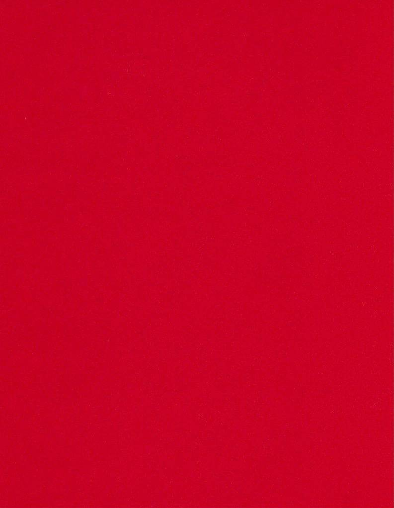 """Italy Fabriano, Vice Versa (Elle Erre), Bright Red, 20"""" x 27.5"""", 220gsm / 135#"""