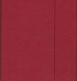 "India Burgundy, Faux Leather, Journal with Blank Pages, 192 white pages, 6.25"" x 8.5"", 80gsm, Magnetic Flap"