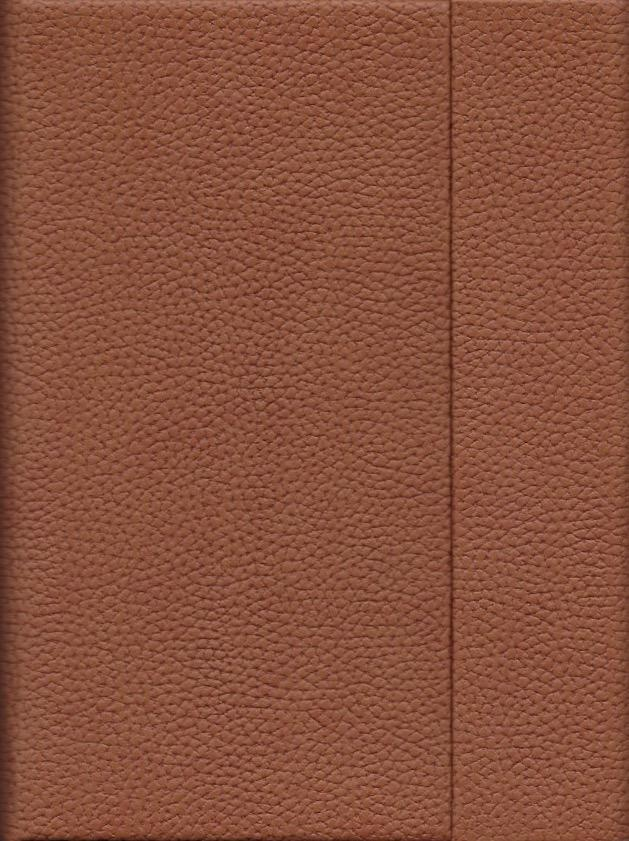 "India Brown, Faux Leather, Journal with Grid Pages, 192 white pages, 6.25"" x 8.5"", 80gsm, Magnetic Flap"