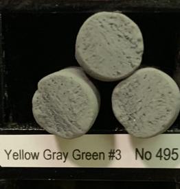 Sennelier, Extra Fine Soft Pastel, Yellow Gray Green