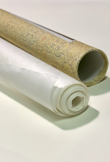 """China Chinese Mulberry Roll, Natural White 27"""" x 11 yards, 30 gsm"""