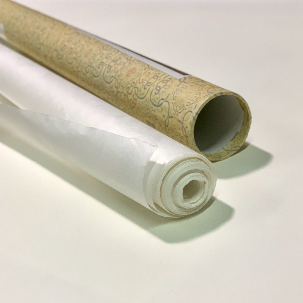 """China Chinese Mulberry Roll, Natural White 38"""" x 11 yards, 30 gsm"""