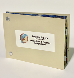 """Amate and Papyrus Papers, Sample Book, 3.875"""" x 5.875"""""""