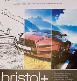 """Italy Bristol + Pad, 9"""" x 12"""" 20 sheets, 250gsm"""