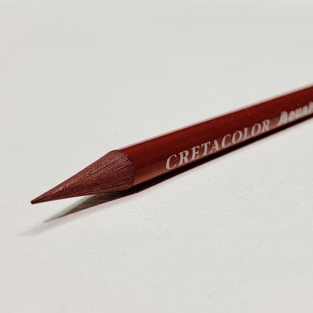 Cretacolor, Aqua Monolith Pencil, Madder Carmine
