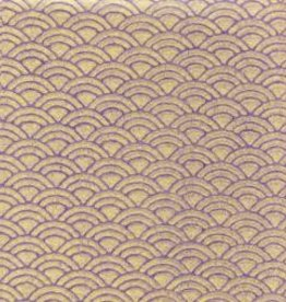 "Japan Uminami Lace Purple, 21"" x 31"" Limited Availability"