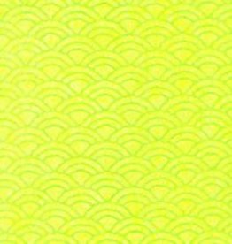 """Japan Uminami Lace Spring Green, 21"""" x 31"""""""