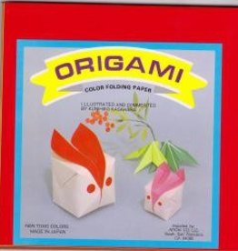 "Japan Origami, 7"" x 7"",  Multi Color Folding Paper, 100 Total Sheets, OG5"
