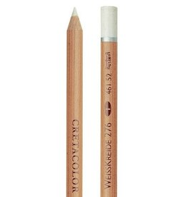 Cretacolor Artist Pencil, White Chalk Medium